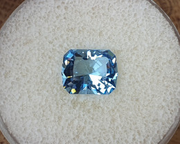 2,70ct Double blue Aquamarine - Master cut!