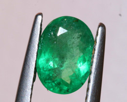 0.85 CTS CERTIFIED   BRAZIL EMERALD FACETED  TBM-1103