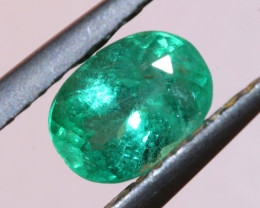 0.76CTS CERTIFIED BRAZIL EMERALD FACETED  TBM-1102