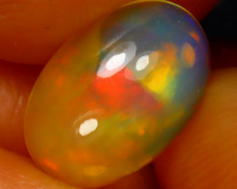 Welo Opal 1.13Ct Natural Ethiopian Play of Color Opal D0917/A28