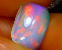 Welo Opal 0.95Ct Natural Ethiopian Play of Color Opal D0919/A28