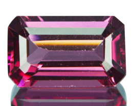 ~BEAUTIFUL~ 1.43 Natural Rose Garnet Pink (Emerald Cut) Mozambique