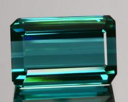 3.36Ct Natural Indigolite Blue Tourmaline Octagon