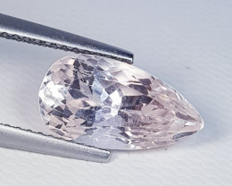 4.16 ct  Top Quality Gem Awesome Pear Cut Natural Kunzite