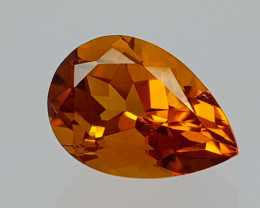 2.25Crt Madeira Citrine Natural Gemstones JI52