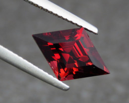 4.05 Cts Beautiful Color Fancy Cut Rhodolite Garnet From Africa
