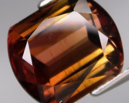 8.37Ct.Ravishing Color! Natural BIG Padparadsha&Champagne Tourmaline Mozamb
