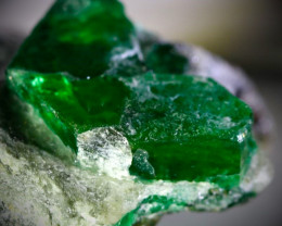 Mingora Emerald 114.40ct Calc Schist Host Rock