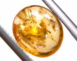 5.45 CTS GOLDEN TOPAZ  CABOCHON   TBM-2243