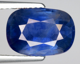 4.29 CT AIG CERT BLUE SAPPHIRE TOP LUSTER GEMSTONE AFRICA