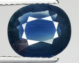 2.52 CT AIG CERT BLUE SAPPHIRE TOP LUSTER GEMSTONE AFRICA