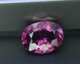 Read Description 1.40 ct Top Grape Garnet