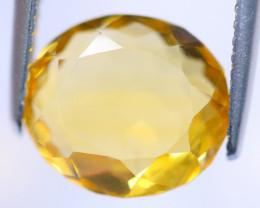 4.38cts Natural Yellow Orangish Colour Citrine / MA493