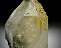 Amazing Natural color Damage free  Quartz have inside Epidote Crystals 264C
