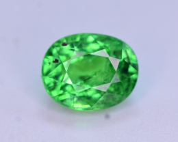 Forest green color 1.30 Carat Tsavorite garnet from Tanzania