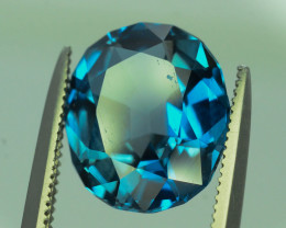 Topaz 4.30 Ct Natural London Blue Topaz ~ K