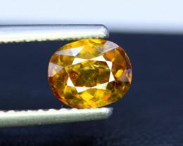 Sphene Titanite, 1.45 CT Natural Full Fire Sphene Titanite Gemstone