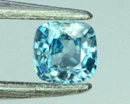 AAA Brilliance1.40 ct Blue Zircon Cambodia ~K