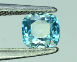 AAA Brilliance1.60 ct Blue Zircon Cambodia ~K
