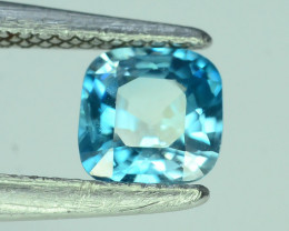 AAA Brilliance 1.45 ct Blue Zircon Cambodia ~K