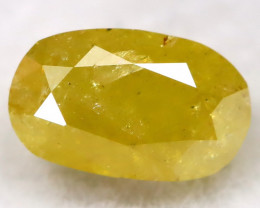 Yellow 0.35Ct Natural Untreated Fancy Diamond BM0238