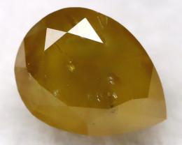 Greyish Yellow 0.28Ct Natural Untreated Fancy Diamond BM0242