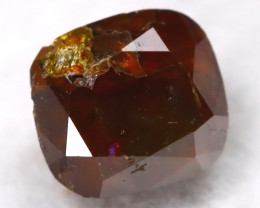 Cognac Red 0.42Ct Natural Untreated Fancy Diamond BM0243