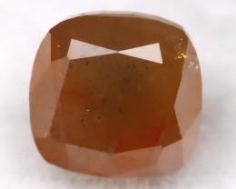 Greyish Red 0.34Ct Natural Untreated Fancy Diamond BM0251