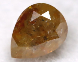 Greenish Red 0.24Ct Natural Untreated Fancy Diamond BM0252