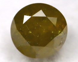 Yellowish Green 0.47Ct Natural Untreated Fancy Diamond BM0259