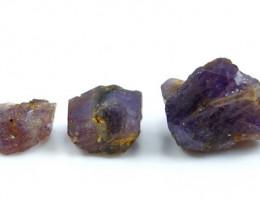 101.40 CT Natural - Unheated Purple Scapolite Rough Lot