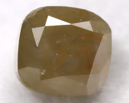 Greenish Grey 0.32Ct Natural Untreated Fancy Diamond BM0267