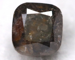 Salt and Pepper 0.32Ct Natural Untreated Fancy Diamond BM0278