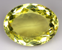 38.24 CT YELLOW LEMON QUARTS  GEMSTONE LQ17
