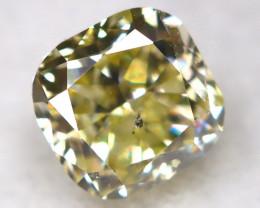 Light Green Diamond 0.29Ct Untreated Genuine Fancy Diamond C0812