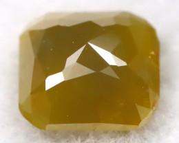 ํYellowish Green 0.19Ct Natural Untreated Fancy Diamond BM0286