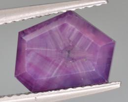Natural Trapiche Sapphire 3.07 Cts from Kashmir, Pakistan