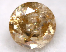 Champagne 0.15Ct Natural Untreated Fancy Diamond BM0475