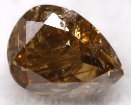 Cognac 0.19Ct Natural Untreated Fancy Diamond BM0481
