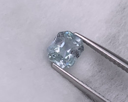 1.26 Cts Top Quality Unheated/Untreated Sky Blue Srilankan Sapphire