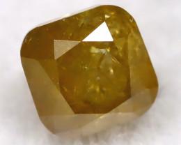 Greenish Orange 0.19Ct Natural Untreated Fancy Diamond BM0489