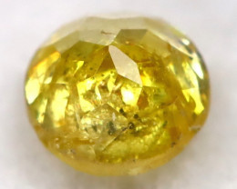 Yellow 0.21Ct Natural Untreated Fancy Diamond BM0490