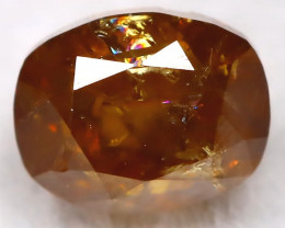 Intense Orange 0.33Ct Natural Untreated Fancy Diamond BM0492
