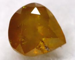Greenish Orange 0.23Ct Natural Untreated Fancy Diamond BM0496