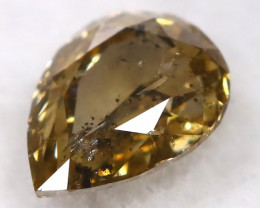 Champagne 0.20Ct Natural Untreated Fancy Diamond BM0498
