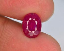 2.40 ct Untreated Pink Corundum Kashmir Sapphire ~~