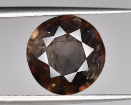 Rare 3.40 CTS Axinite Faceted Gem