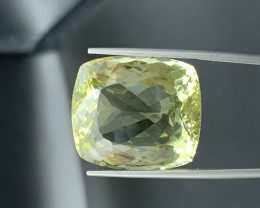 36.01 Carats Lemon Quartz Gemstone
