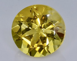 3.81 Crt Natural  Citrine Faceted Gemstone.( AB 99)