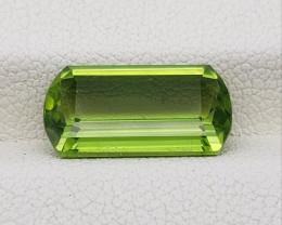 Peridot 5.55 carats VVS